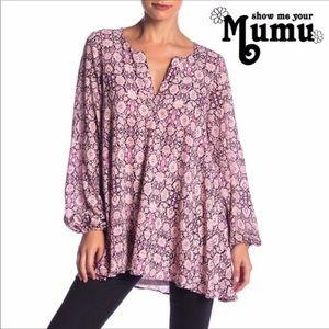 Show Me Your Mumu Jamie Tunic Boho Peasant Tunic